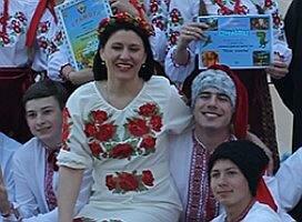 Студенти коледжу КФЕК провели фестиваль української народної пісні